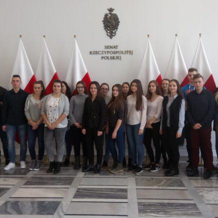 Wycieczka do Sejmu i Senatu RP