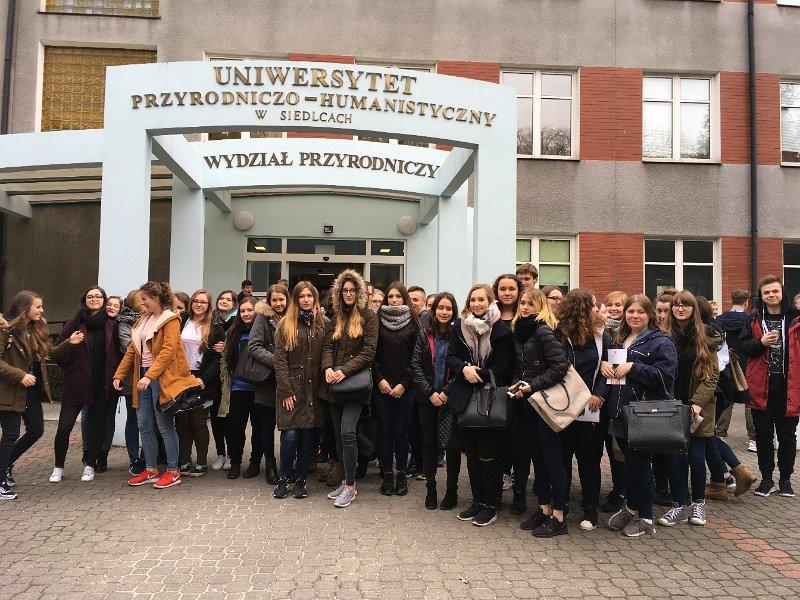 Udział w dniach otwartych z Uniwersytetem Przyrodniczo – Humanistycznym w Siedlcach